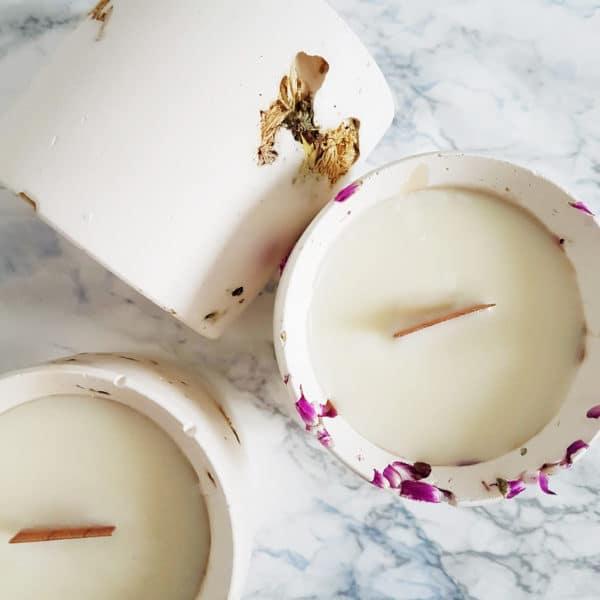 Bougie parfumée vegan Prairies du Sud 200ml - Bougie parfum de Grasse