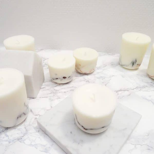 Bougie parfumée bio Eucalyptus & Menthe Poivrée 150ml - Bougie bio