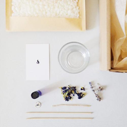 Kit bougie DIY Paris - bougie soja parfumée - Kit bougie DIY