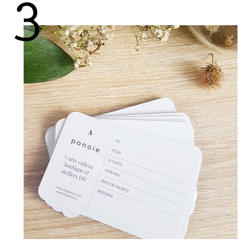 Top 5 idées cadeaux Noël éthiques by PONOIE - carte cadeau noel - carte cadeau à offrir