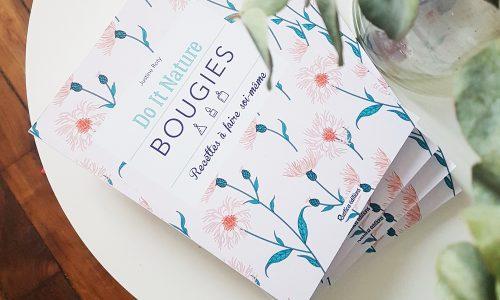 livre bougie diy - tuto bougie vegan - bougie naturelle diy