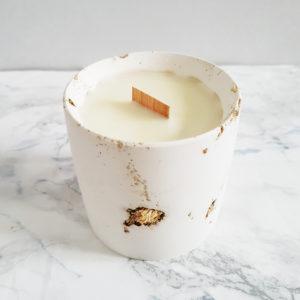 bougie parfumée fleurie aux parfums de grasse + Prairies du sud - bougie vegan - atelier createur Paris