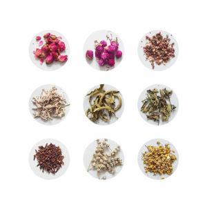 fleurs séchées pour bougie Ponoie - Ingrédients bougie handmade - Atelier bougie Paris
