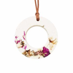 suspension fleurie fleurs séchées - suspension fleurs sechees - Décoration végétale PARIS