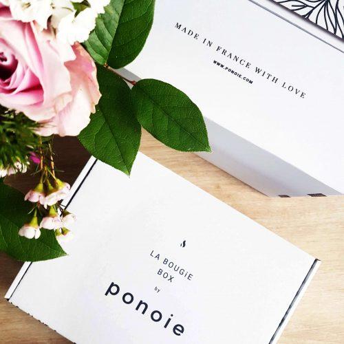 Bougie box Ponoie - Abonnement box bougie - Box lifestyle PARIS