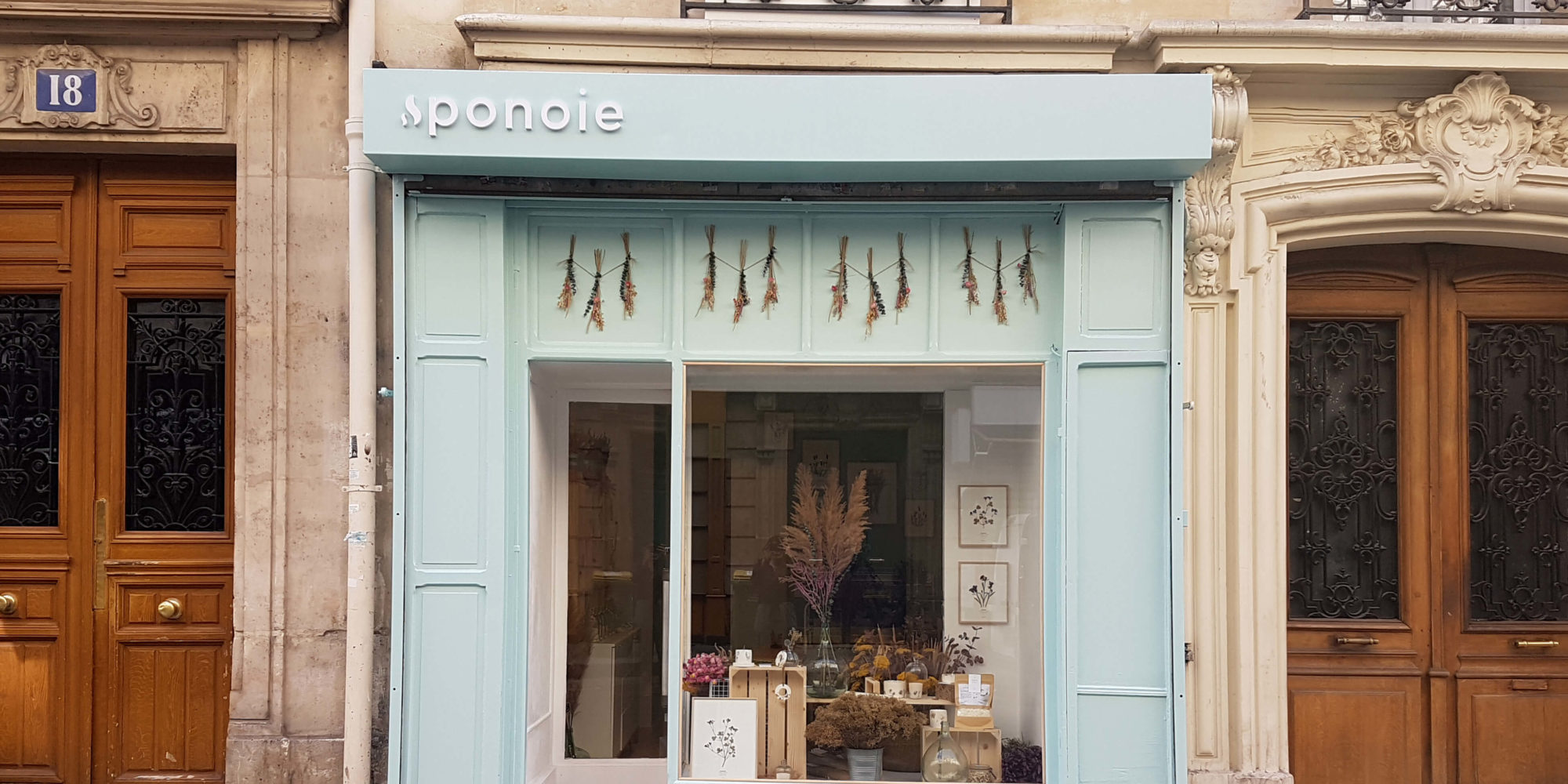 boutique bougie paris - fleurs sechees paris - boutique ponoie paris