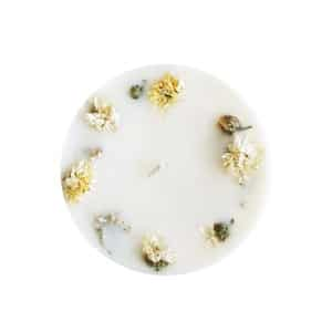 Bougie fleurie Prairies du Sud 150 ml - Bougie sans allergènes PONOIE