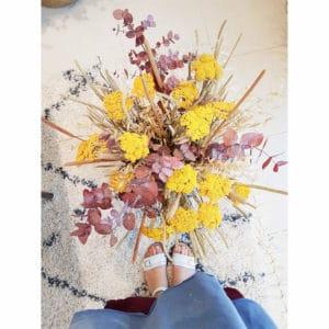 Bouquet de mariage - Fleurs séchées : Bouquet de fleurs séchées mariage