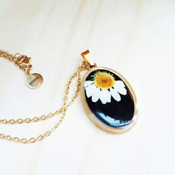 Collier fleuri CEZARY - Marguerite