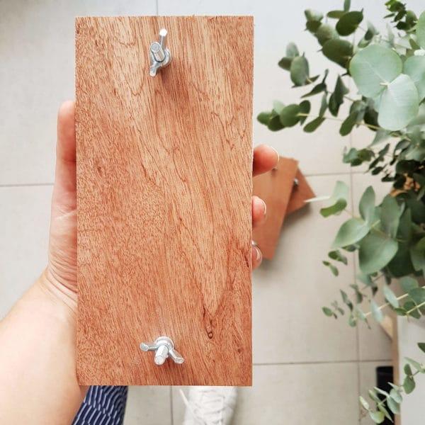Presse à fleurs en bois 21 x 10 cm - Séchage fleurs séchées