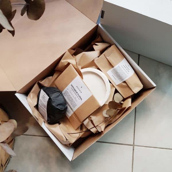 Box bougie de Noël 2020 - Box bougie vegan - Box de Noël 2020