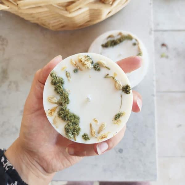 fleurie Chèvrefeuille des jardins 200 ml - Boutique bougie BOURGES