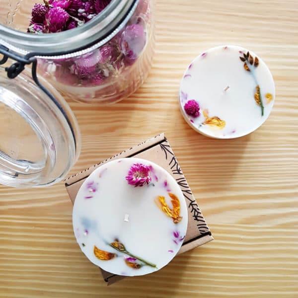 Bougie fleurie Printemps à Kyoto 200 ml - Bougie sans allergènes PONOIE
