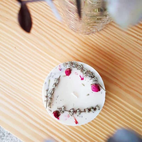 Boutons de rose - Réalisez vos bougie DIY - Boutons de roses pour bougie