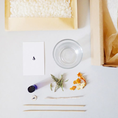 Kit création bougie DIY 150 ml - Bougie cocooning - Kit bougie DIY