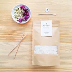Kit bougie DIY : Amarantoïde x Jasmin 150 ml - Kit bougie maison
