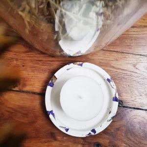 Bougies votives en cire de soja 80 ml x 4 - Bougie votive 100% naturelle