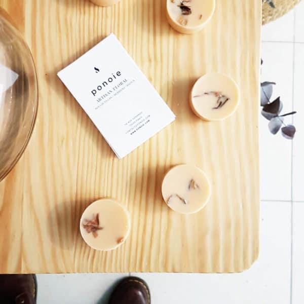 Pastilles parfumées bio Orange & Cannelle x 4 - Parfum pour linge vegan