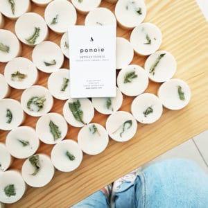 Pastilles parfumées Ylang - Patchouli - Bougie Paris Ponoie