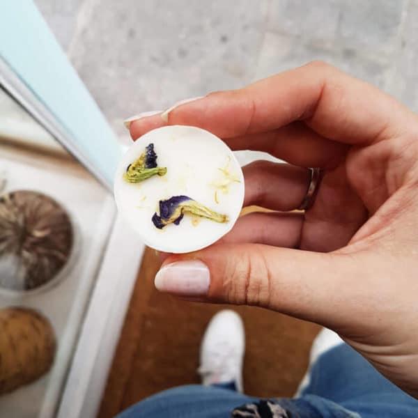 Pastilles parfumées bio Citron & Bois de hô - Parfum SOLIDE pour linge