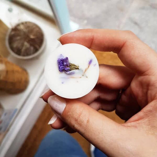 Pastilles parfumées bio Géranium & Lavandin x 4 - Parfum vegan PARIS