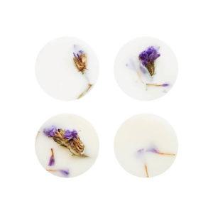 Parfum solide pour linge - Pastilles parfumées Musc boisé x 4