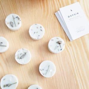 Pastilles parfumées bio Lavande & Menthe Poivrée - Bougie bio PARIS