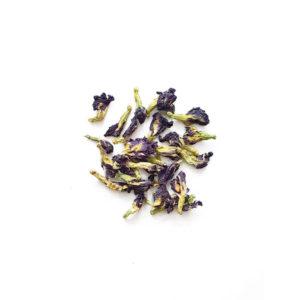 Pois bleu - Réalisez vos bougie - Fleurs séchées pour bougie
