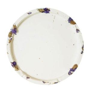 Support bougie floral Statice XL - Accessoires bougie Paris (PONOIE)