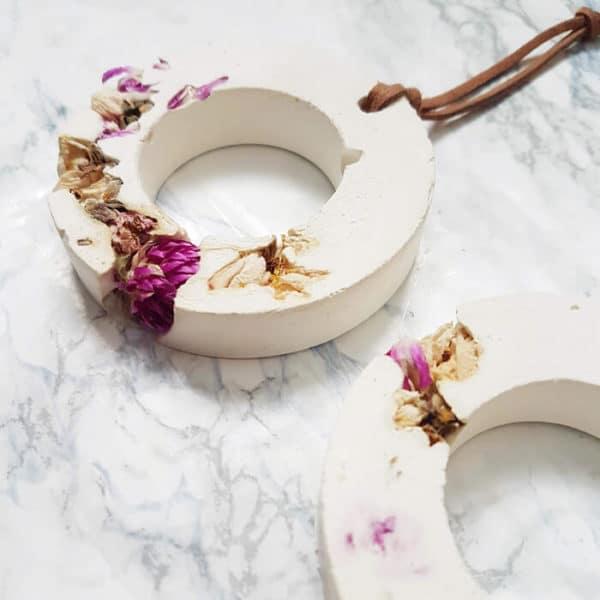 Diffuseur d'huiles essentielles fleuri - Amarantoïde & Fleurs de pêcher