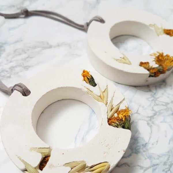 Diffuseur d'huiles essentielles fleuri Avoine & Pissenlit - Fleurs séchées