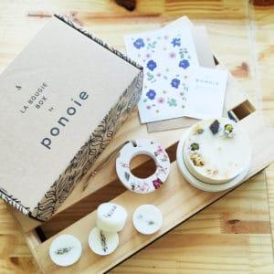 box bougie de noel - bougie box de noel paris