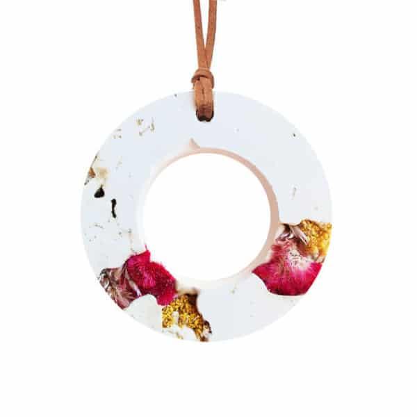 Diffuseur d'huiles essentielles fleurs séchées de Célosie x Achillée